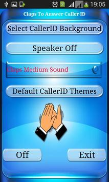 Claps to Answer Caller ID apk screenshot