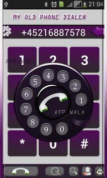 My Old Phone Dialer apk screenshot