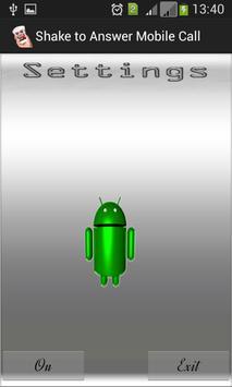 Shake To Answer Mobile apk screenshot