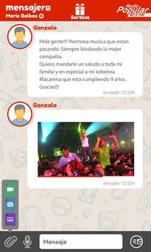 Mensajero apk screenshot