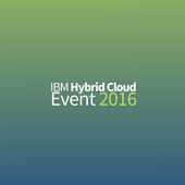 Hybrid Cloud 2016 - For IBM icon