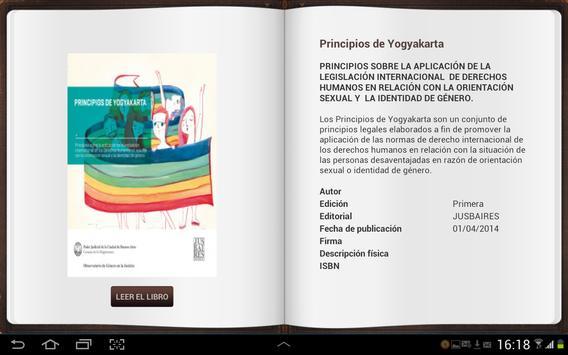 Editorial Jusbaires apk screenshot