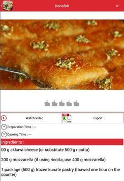 Arabic Food Recipes apk screenshot