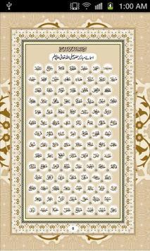 Noble Names of Prophet(PBUH) poster