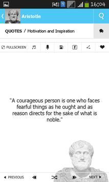 Aristotle Quotes apk screenshot
