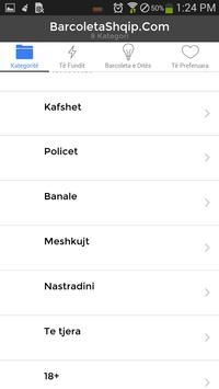 BARCOLETA Shqip apk screenshot