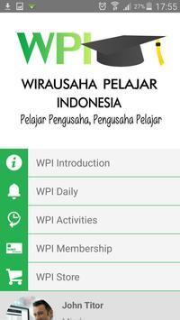 Wirausaha Pelajar Indonesia poster