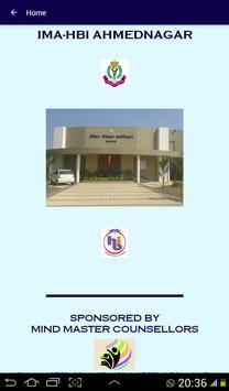 IMA-HBI Ahmednagar poster