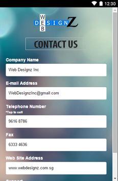Web Designz Inc apk screenshot