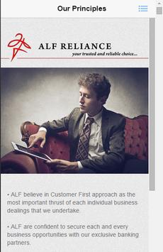 ALF Reliance apk screenshot
