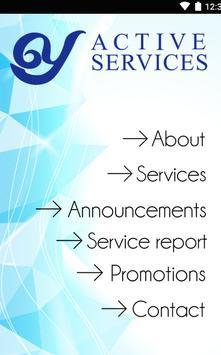 O Y Active Services poster