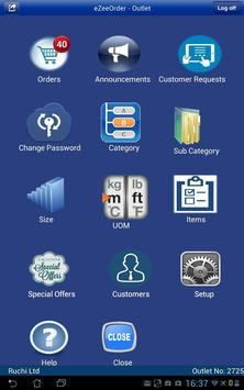eZeeOrder-outlet apk screenshot