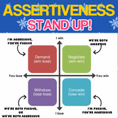 Assertiveness Stand Up Guide icon