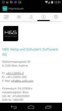 HS ZEITFLUG apk screenshot