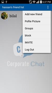 Corporate Chat apk screenshot