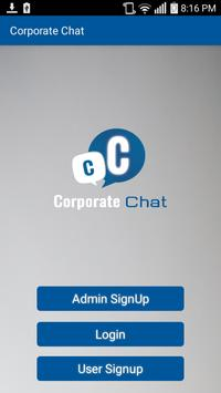 Corporate Chat poster