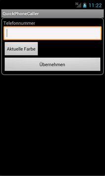 Quick Phone Calling apk screenshot