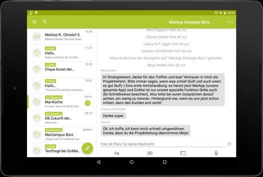 MaiApp Messenger apk screenshot