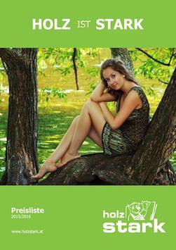 Holz Stark poster