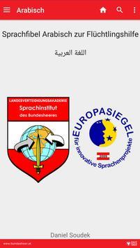 Arabisch-App des Bundesheeres poster
