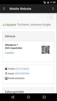 Tischlerei Johannes Kugler apk screenshot