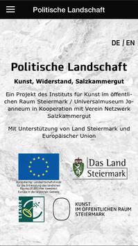 Politische Landschaft poster