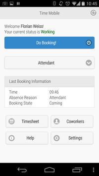 Webdesk Time Mobile poster