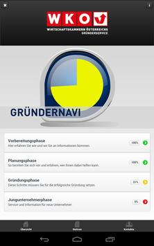 Gründernavi apk screenshot