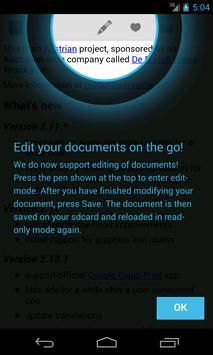 OpenDocument Reader poster