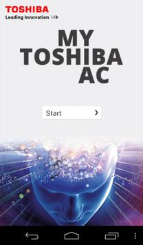 TOSHIBA AC poster