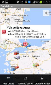 Rota Araç Takip Sistemi apk screenshot