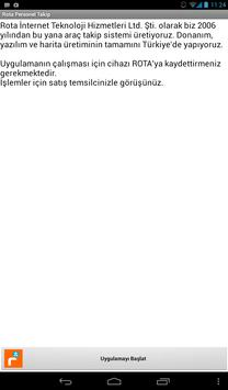 Rota Personel Takip apk screenshot