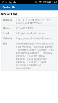 Sinclair Ford apk screenshot