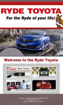 Ryde Toyota poster