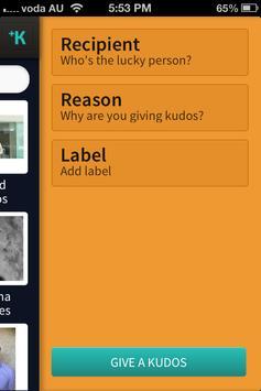 KudosPoints apk screenshot