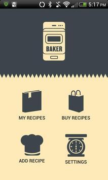 The Baker App poster