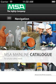 MSA Mainline Catalogue poster