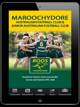 Maroochydore Roos Aust Footbal apk screenshot