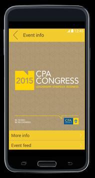 CPA Australia Events poster