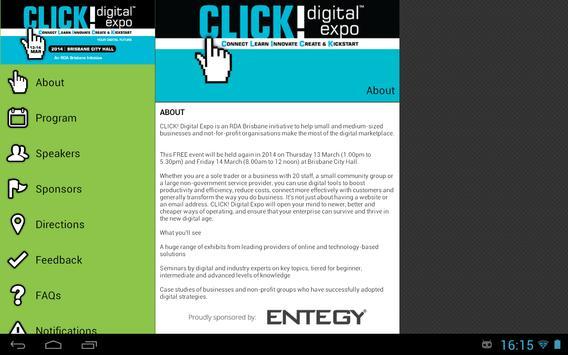 Click! Digital Expo 2014 apk screenshot