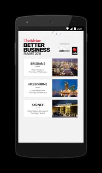 Better Business Summit 2016 poster