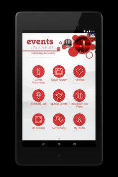 Events Uncovered apk screenshot