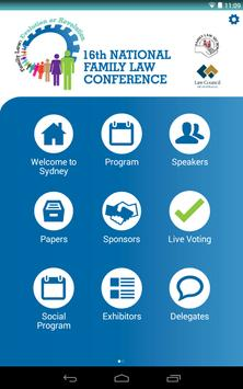 National Family Law Conference apk screenshot
