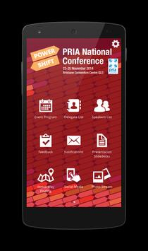 PRIA National Conference poster