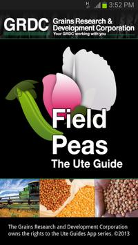 Field peas: The Ute Guide poster
