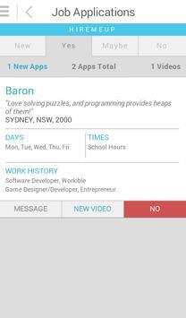 Workible apk screenshot