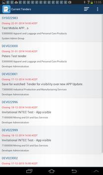 SA Tenders and Contracts apk screenshot
