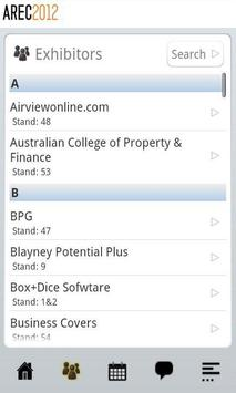AREC 2012 apk screenshot