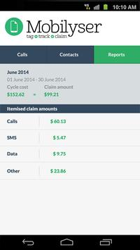 Mobilyser apk screenshot