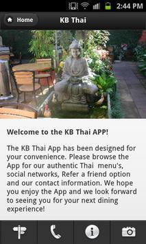 KB Thai Restaurant poster